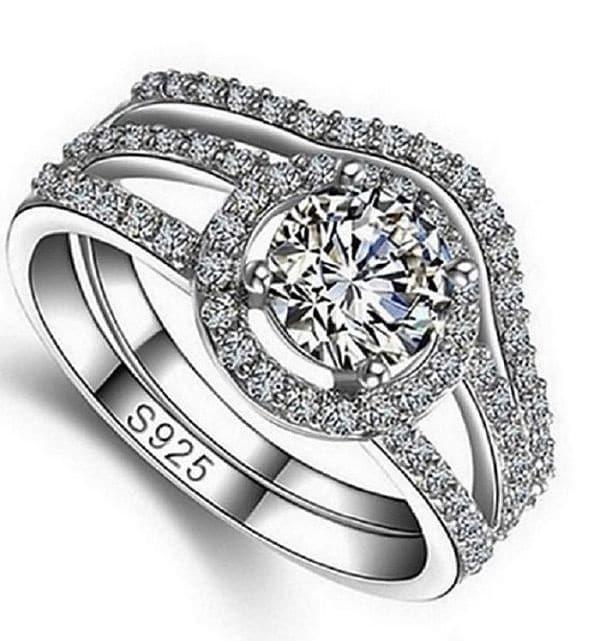кольцо из серебра 925 проба