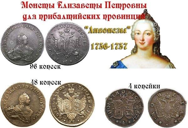 монеты с изображением елизаветы 2