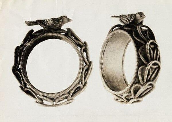 кольца старинные