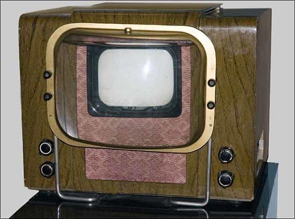 КВН старый телевизор