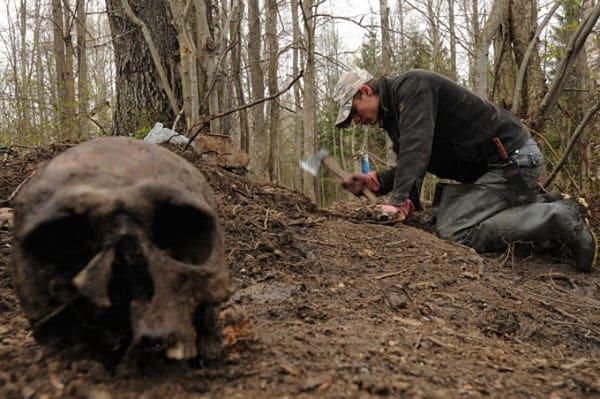 копатели ищут клад