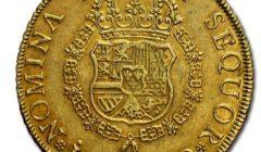 испанская золотая монета