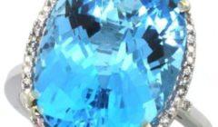 топаз голубого цвета