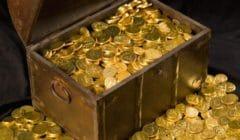 золотые монеты держава